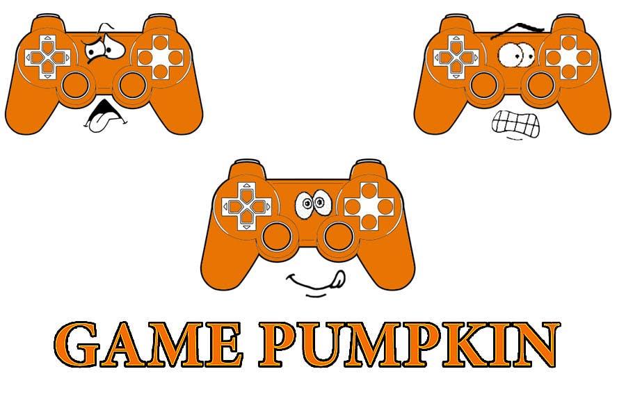 Penyertaan Peraduan #89 untuk Logo Design for GamePumpkin