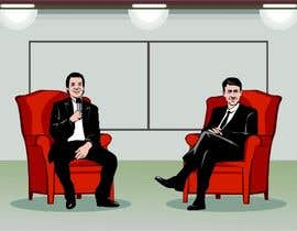 #13 untuk Illustrate two people for a conference oleh porderanto