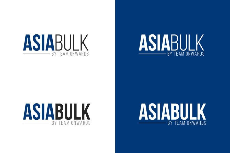 Penyertaan Peraduan #13 untuk Design a Logo for AsiaBulk by TeamOnwards