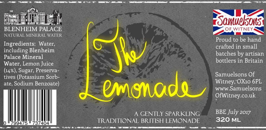Kilpailutyö #9 kilpailussa Create Print and Packaging Designs for Soft Drink / Lemonade Bottle Label