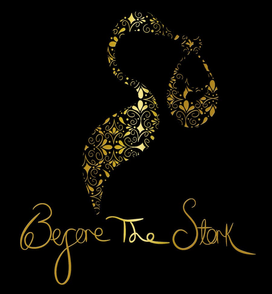 """Inscrição nº 27 do Concurso para Design a Logo for maternity boutique """"Before The Stork"""""""