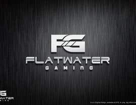 #90 for Design a Logo for Flatwater Gaming af ziarahmanZR