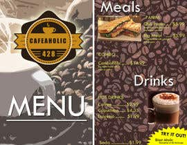 orlan12fish tarafından Help me with designing a simple but effective cafe menu için no 1