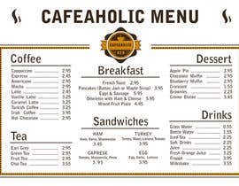 libellula86 tarafından Help me with designing a simple but effective cafe menu için no 4