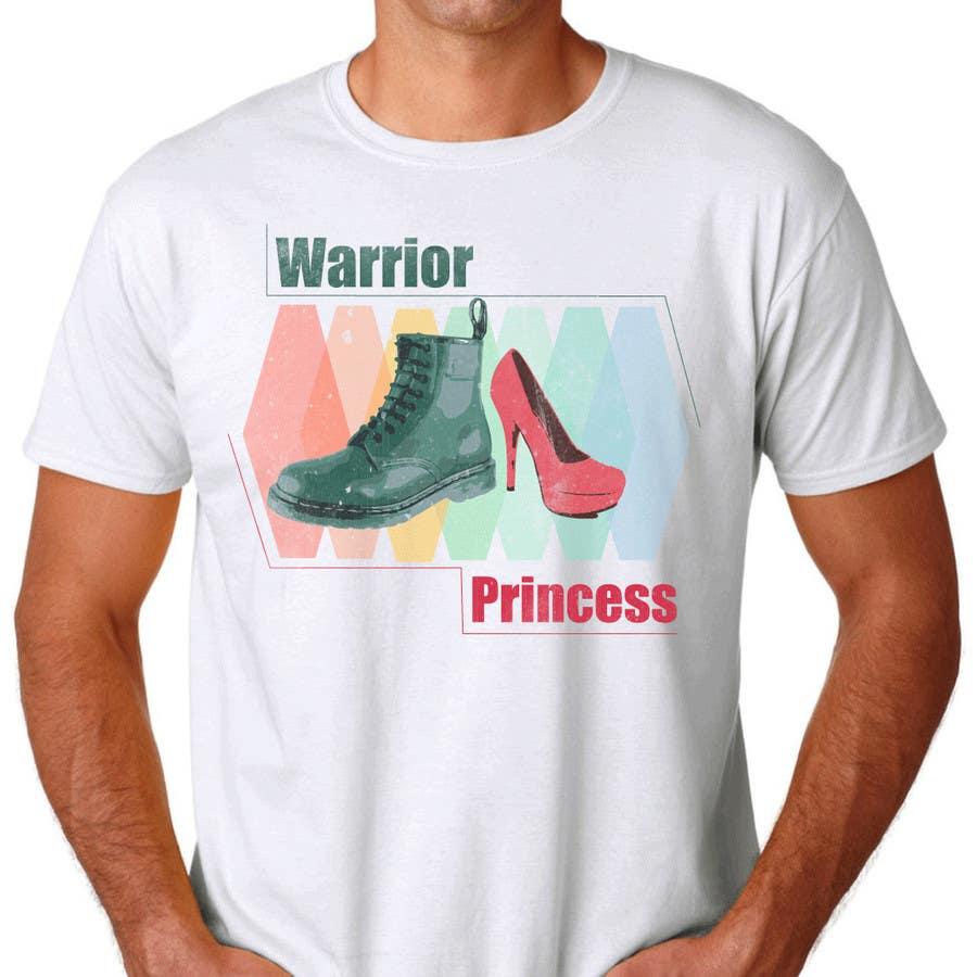 Inscrição nº 12 do Concurso para Design a T-Shirt for Warrior Princess