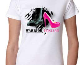 #32 cho Design a T-Shirt for Warrior Princess bởi vica0309