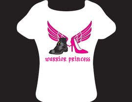 #30 cho Design a T-Shirt for Warrior Princess bởi thedubliner