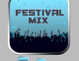 #25 untuk Design Iphone App Icon for a Music Festival Playlist app oleh dynamiteboy