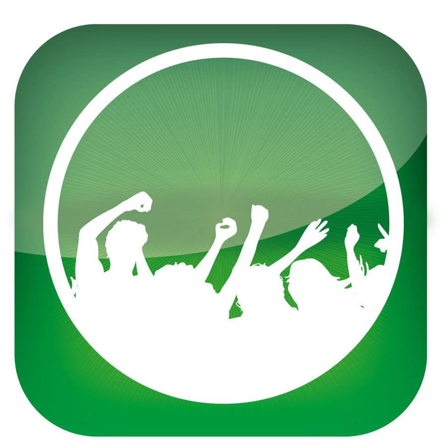 Bài tham dự cuộc thi #                                        3                                      cho                                         Design Iphone App Icon for a Music Festival Playlist app