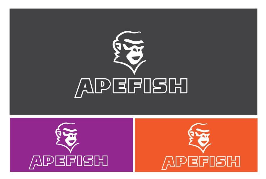 Bài tham dự cuộc thi #4 cho Apefish logo
