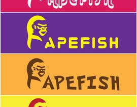 Nro 6 kilpailuun Apefish logo käyttäjältä orangethief