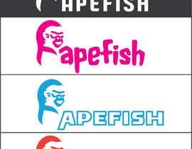 Nro 9 kilpailuun Apefish logo käyttäjältä orangethief