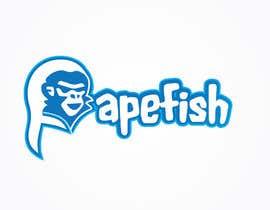 Nro 12 kilpailuun Apefish logo käyttäjältä orangethief
