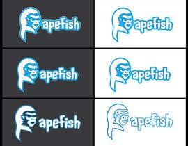 Nro 15 kilpailuun Apefish logo käyttäjältä orangethief