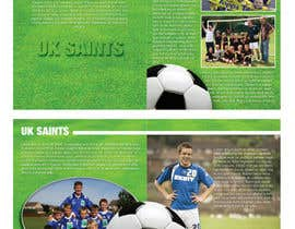 #3 pentru Graphic Design for uk saints brochure de către eenchevss