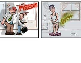 #4 cho Create 8 cartoons for comic strip bởi Palewind