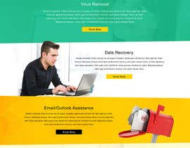 #15 for Design a Website Mockup for Computer Repair Website by greenarrowinfo