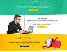 #15 untuk Design a Website Mockup for Computer Repair Website oleh greenarrowinfo