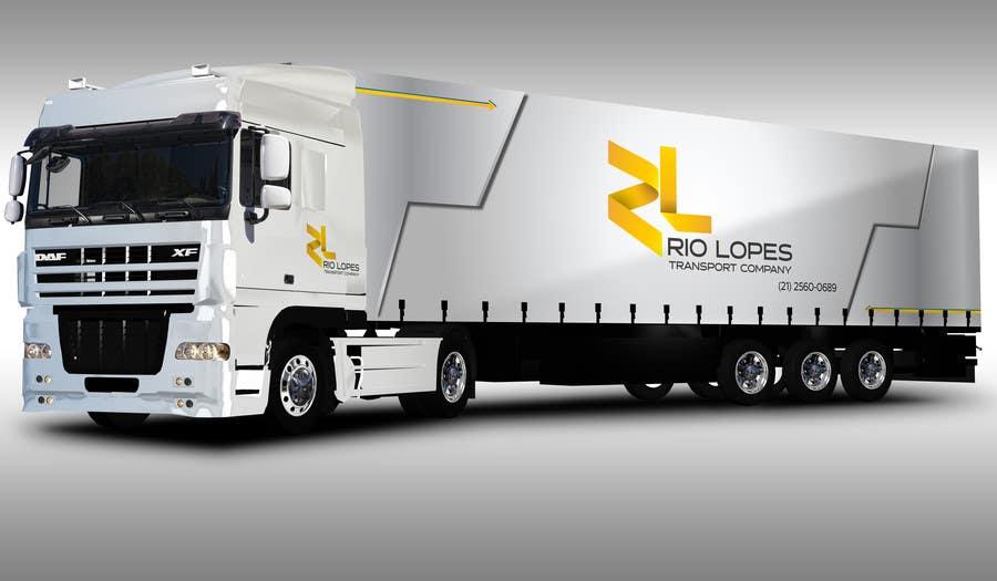 Bài tham dự cuộc thi #78 cho Design a logo - Transport Company Rio Lopes