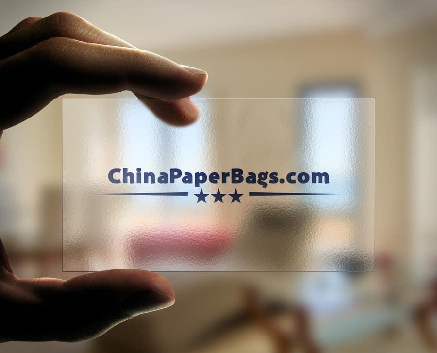 Inscrição nº 43 do Concurso para Design a Logo for ChinaPaperBags.com