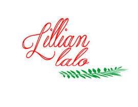 #93 untuk Make my name a logo! Lillian Lalo oleh krishga54