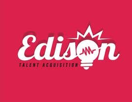 #23 cho Design a flat logo for Edison Talent Acquisition (Web Design Recruitment). Think inventions crossed with monopoly! bởi YONWORKS