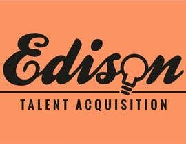 #4 untuk Design a flat logo for Edison Talent Acquisition (Web Design Recruitment). Think inventions crossed with monopoly! oleh manfredslot