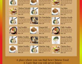 #5 for Design a MENU for a Chinese Noodle Restaurant af Aliasgar19987