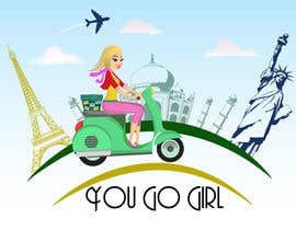 #18 para Design a Logo for my business, You Go Girl! por ms471992