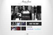 Graphic Design Natečajni vnos #43 za Design The Coolest Clothing Shop Landing Page in the World!