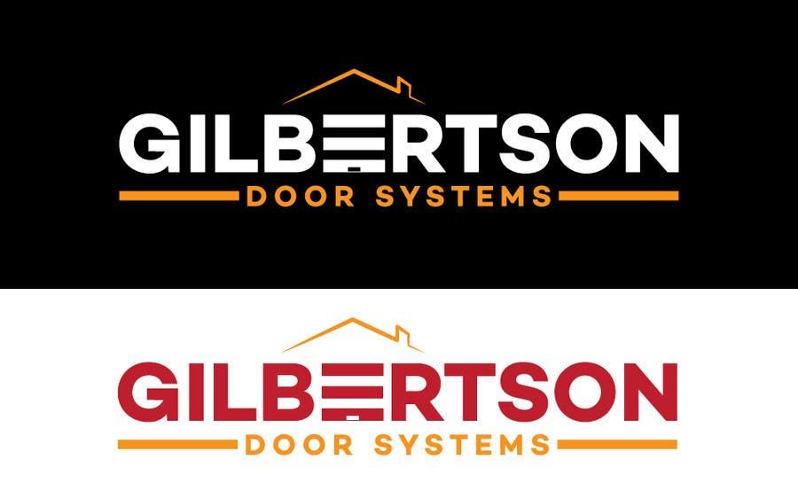 Kilpailutyö #36 kilpailussa Design a Logo for Gilbertson Door Systems
