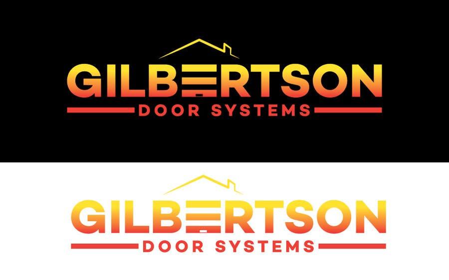 Kilpailutyö #44 kilpailussa Design a Logo for Gilbertson Door Systems