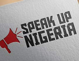 #35 para Design a Logo for Speak up Nigeria, por vanlesterf