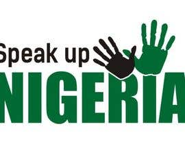 #177 para Design a Logo for Speak up Nigeria, por Irshan143