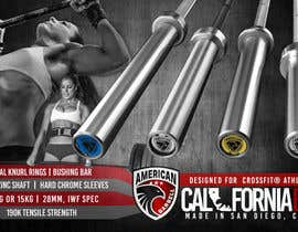 #35 untuk Design a Banner for American Barbell oleh moiraleigh19