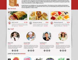 qdoer tarafından Design a Website Mockup for retail food company için no 40