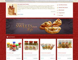 lassoarts tarafından Design a Website Mockup for retail food company için no 30