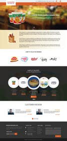 ankisethiya tarafından Design a Website Mockup for retail food company için no 18