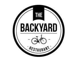 "#7 untuk Diseñar un logotipo para Restaurant Café ""The Backyard"" oleh Estudio3551"