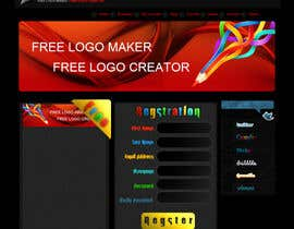 #38 para Sign Up page for Online Logo Maker de ReVeN7