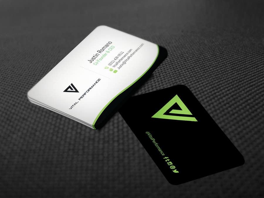Kilpailutyö #19 kilpailussa Design some Business Cards for Vital Performance