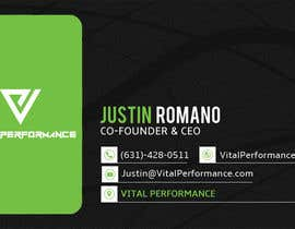 Fgny85 tarafından Design some Business Cards for Vital Performance için no 41