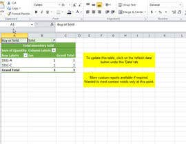 #10 untuk Do some Excel Work for Company to manage inventory oleh melissamellor