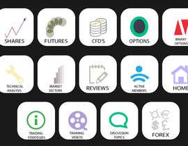 #2 for Design some Icons for a stockmarket website by praveenramkumar