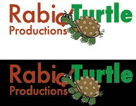 #141 for Logo Design for Rabid Turtle Productions av LynnN