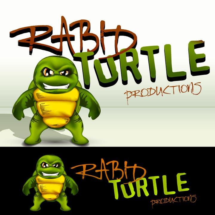 Конкурсная заявка №146 для Logo Design for Rabid Turtle Productions