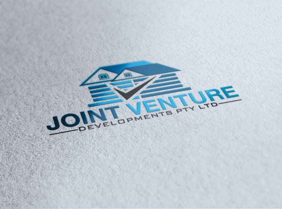 Kilpailutyö #14 kilpailussa Design a Logo for Joint Venture Developments Pty ltd