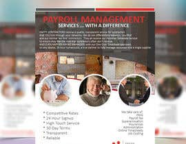 #43 for Design a Flyer for Payroll Management Services af DavidToy