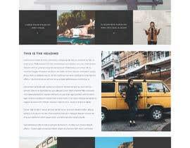 Nro 14 kilpailuun Design a webpage! käyttäjältä jagodap