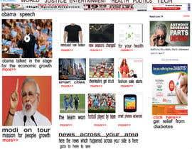 Nro 2 kilpailuun Design a webpage! käyttäjältä krishga54